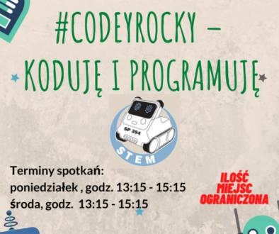 #CodeyRocky – KODUJĘ I PROGRAMUJĘ.